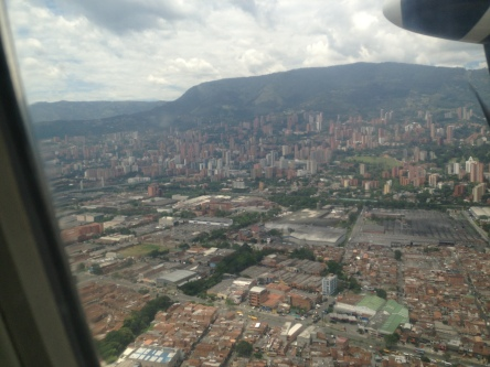 Landing in EOH Airport