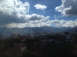 Clouds over Medellin