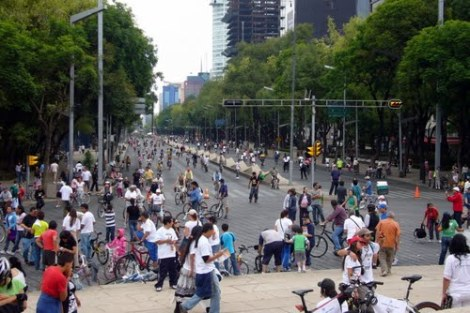 Reforma on Sunday