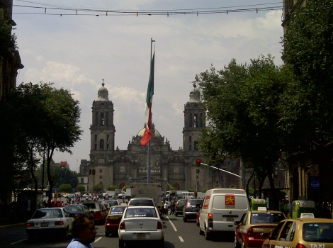 To the Zócalo