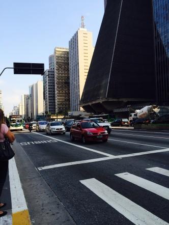 Street scene on Paulista