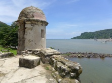 Another Spanish fort on the banks of Portobelo