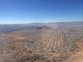 Landing in Chihuahua