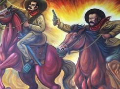 At Pancho Villa's House in Chihuahua