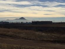 Foggy mountain horizons