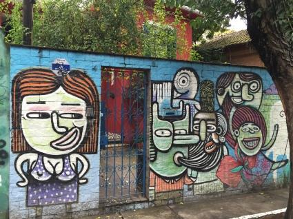 Graffiti in Vila Madalena