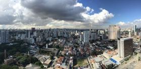 Panorama over Itaim Bibi