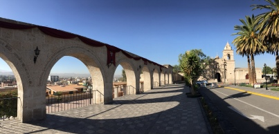 Main plaza of Yanahuara