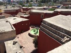 The sacred city of Santa Catalina