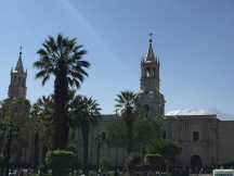 Plaza de Armas by day - with a ray of light