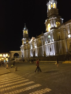 Nighttime at the Cathedral