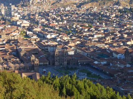 Overlook from Sacsayhuaman