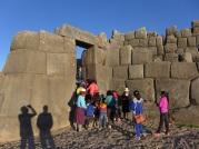 Locals at Sacsayhuaman