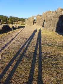 Shadows of Qorikancha