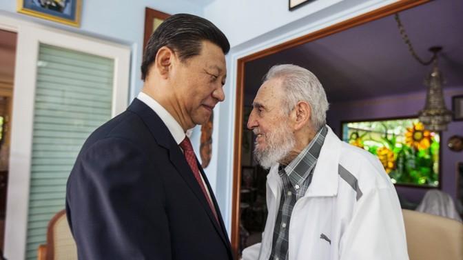 Fidel and Xi