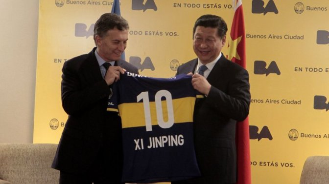 Macri and Xi