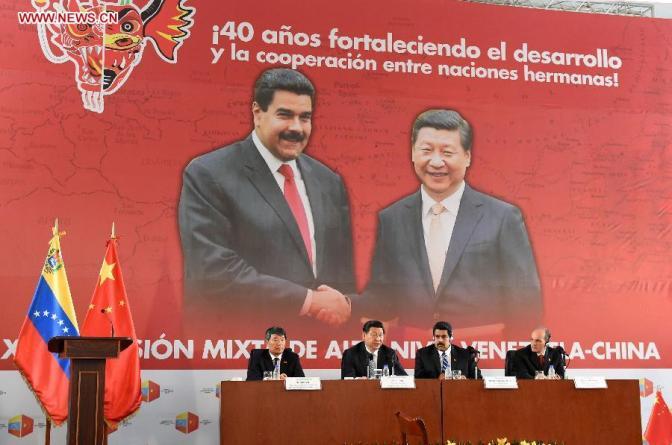 Maduro and Xi