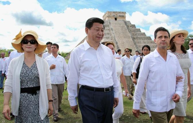 Enrique and Xi