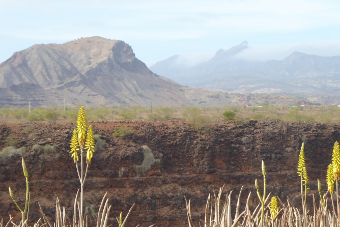 A typical Cape Verdean valley